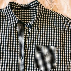 Madewell Gingham Button Down Shirt